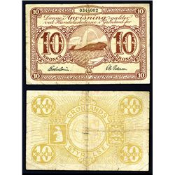 Greenland, State Notes ND 1945 Issue Banknote.