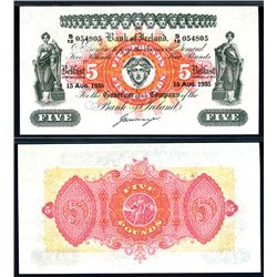 Bank of Ireland, 1935-40 Issue Banknote.
