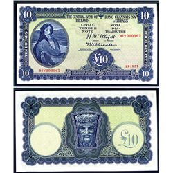 Central Bank of Ireland, 1957-60 Issue Banknote.