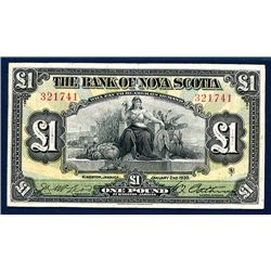 Bank of Nova Scotia, 1930 Issue Banknote.