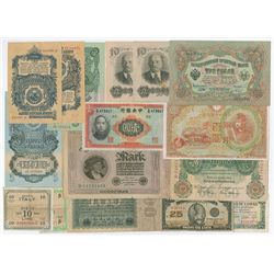 Foreign banknote Assortment of 29 Notes.