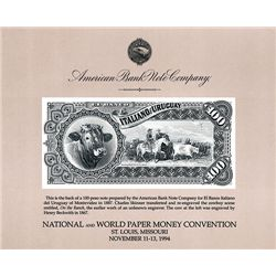 ABNC Souvenir Card, St. Louis, National and World Paper Money Convention, 1994, Lot of 20.