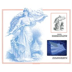 ABNC Hologram Souvenir Card, IPMS 1991 Lot of 6.
