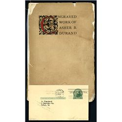 J Blanchard's Personal Copy 'The Engraved Work of Asher B. Durand' & Correspondence, 1940's.