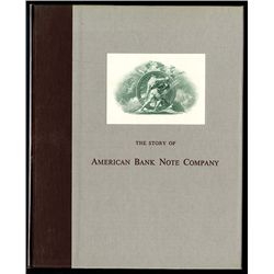 Story of American Bank Note Company, Book.