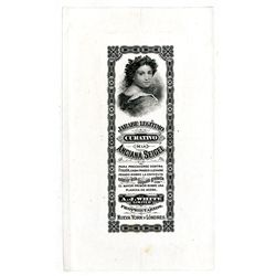 """Spanish version of """"Mother Seigel"""" Syrup ca.1870-80 Proof Label."""