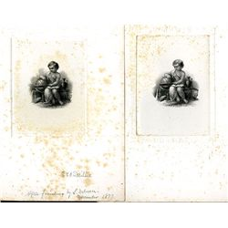 G.F.C. Smillie's Proof Engraved Duo with Differences.