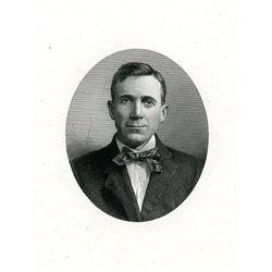 M.W.Baldwin Engraved Proof of Distinguished Gentleman.