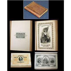 American Bank Note Company Spanish Advertising Presentation Vignette Book ca.1860's