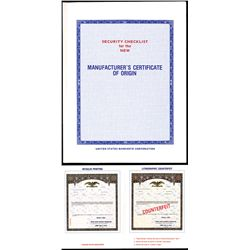 U.S. Banknote Company Counterfeit Detector for Automobile Registration Certificates.