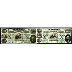 Virginia Treasury Note Pair.