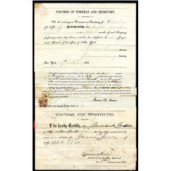Civil War 1863, $300 Voucher for Substitutes.