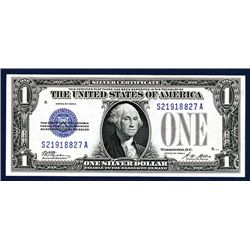 U.S. Silver Certificate, $1, Series of 1928 A, Issued Banknote.