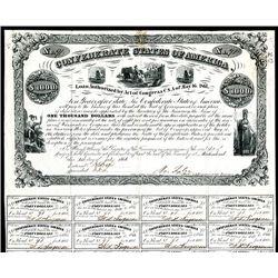 Confederate Bond, Act of May 16, 1861.