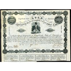 Confederate Bond, Act of August 19, 1861.