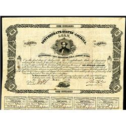 Confederate Bonds, Act of August 19, 1864 & Act of April 30, 1863.