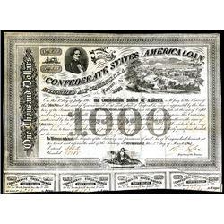 Confederate Bond, Act of February 20, 1863.