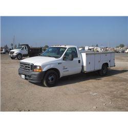 2001 Ford F350 Utility Truck