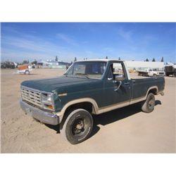 1983 Ford F150 S/A 4x4 Pickup Truck