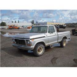 1978 Ford F150 Custom 4x4 Pickup Truck