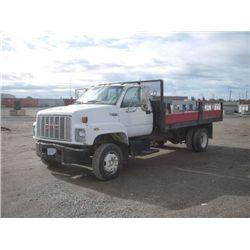 1991 GMC Top Kick SLE S/A Flatbed Dump Truck
