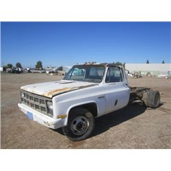 1981 GMC Sierra 3500 S/A Cab & Chassis