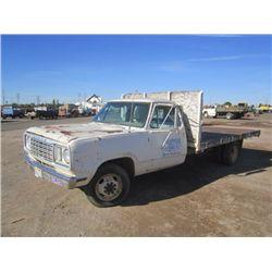 1978 Dodge S/A Flat Bed Truck