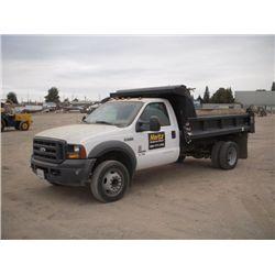2006 Ford F550 XL Super Duty S/A Dump Truck