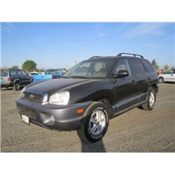 2004 Hyundai Santa Fe SUV