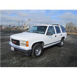 1999 GMC Yukon 1500 SLE SUV