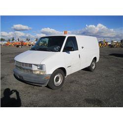 2000 Chevrolet Astro Commercial Van