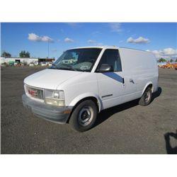 2000 GMC Safari AWD Commercial Van