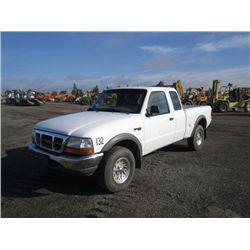1999 Ford Ranger XLT 4x4 XtraCab Pickup Truck