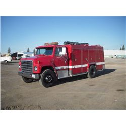 1981 International S1800 S/A Fire Service Truck