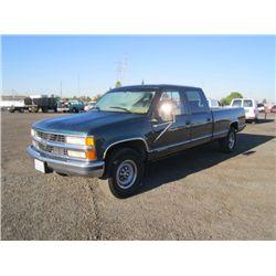 1997 Chevrolet 3500 Cheyenne CrewCab Pickup Truck