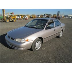 1999 Toyota Corolla Sedan