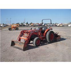 2005 Kubota L3430D 4x4 Ag Tractor