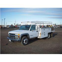 1996 GMC 3500 S/A Utility Truck