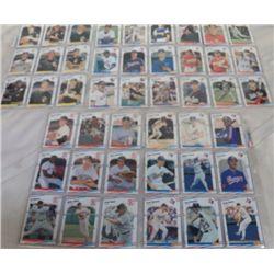 10 Sheets of Baseball Cards