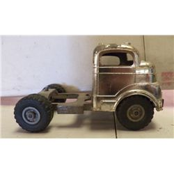 """Chrome Structo Truck approx 9"""" x 5.5. x H5"""""""