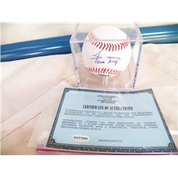 Signed Willie Mays Autographed Ball With Certificate of Authenticity