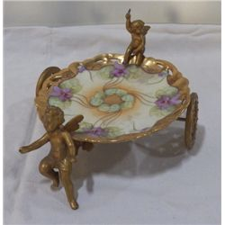 De'Or Bar Bavaria China Candy set in Metal holder