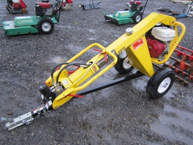 Ground Hog HD99 Towable Post Hole Auger