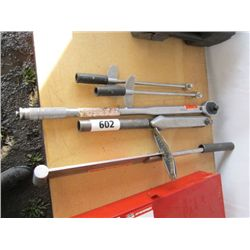 Lot of Industrial Socket Wrenches