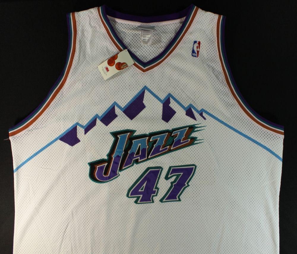 size 40 41f06 7d59a Andrei Kirilenko Signed Jazz Jersey (PA LOA)