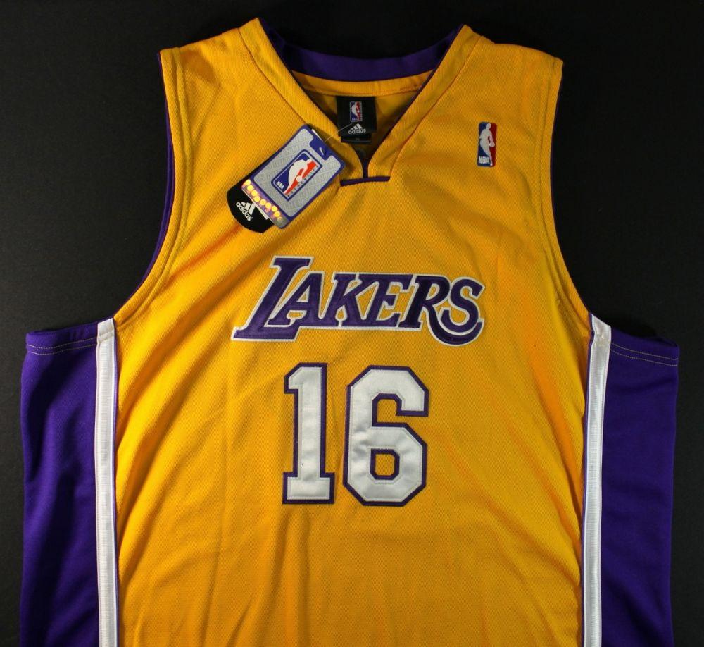 Pau Gasol Signed Lakers Jersey (GA COA)