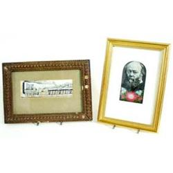 A STEVENGRAPH The Marquis of Salisbury, STG 72, mounted in gilt frame £20-30...
