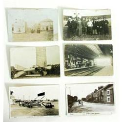 AN INTERESTING COLLECTION OF MISCELLANEOUS POSTCARDS a number of them local, includes Driffield Stat