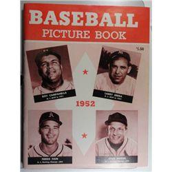 1952 BASEBALL PICTURE BOOK EM+