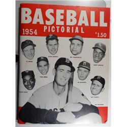 1954 BASEBALL PICTORIAL MAGAZINE EM+